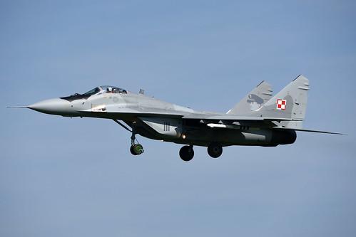 111 MiG-29A Polish Airforce @ Leeuwarden 19-Apr-2018 by Johan Hetebrij