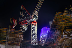 just build around it (pbo31) Tags: financialdistrictsouth sanfrancisco california night dark black color june 2018 summer city urban boury pbo31 nikon d810 salesforce construction crane biggie folsomstreet rinconhill