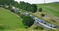 Highway Leading to Stonehenge, England (Joseph Hollick) Tags: england stonehenge road traffic