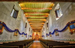 Mission San Diego de Acala Interior