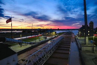 Blue Hour at the Soo