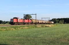 DB Cargo 6508+6455-6461 @ Duur (Sicco Dierdorp) Tags: db dbc cargo serie6400 vlaamsereus unitcargo ketelwagen keteltrein omgeleid ijssellijn deventer zwolle wijhe olst