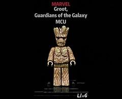Groot, Guardians of the Galaxy MCU (L1n6zz) Tags: guardiansofthegalaxy marvel lego groot mcu