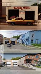 Garage André, Laval des Rapides. (Jean-Marc Hurtubise) Tags: garage atelier carrosserie mécanique 1925 1980 2009 2013 2015 avenue pacifique laval rapides