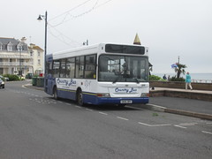 211, Teignmouth, 01/06/18 (aecregent) Tags: teignmouth 010618 countrybus dennisdart slf plaxton mpd 211 sn06brv