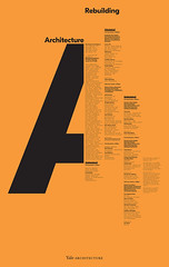 Michael Bierut, Pentagram partner and Senior Critic at the Yale School of Art (inspiration_de) Tags: architecture creative graphicdesign poster typography