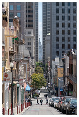Looking Down at the City (Paulemans) Tags: 2018usavacation carlzeisssonnar18135 chinatown thecity sanfransisco california carlzeisssonnar18135za sonnart18135 sonnar18135za paulemans paulderoode