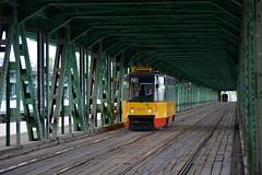 Konstal 105N2K #2037 (LukaszL99) Tags: most gdański warszawa warsaw warschau tram tramwaj strasenbahn konstal 105n 105n2k tramwaje warszawskie tw polska poland polen ztm
