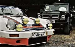 Germans, Gowran (werner_hedgehog) Tags: cars porsche 911 mercedes benz gwagen gelandewagen luftgekuhlt gowran motorsport motorphotography carphotography film kodacolor kodak nikon festivalofspeed