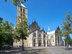 Sankt Paulus-Dom (staetebau) Tags: deutschland germany münster dom kathedrale cathedral katholischekirche catholicchurch architektur architecture romanik romanischebaukunst romanesque gotik gotischebaukunst gothic