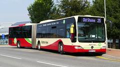 Universibendy (londonbusexplorer) Tags: brighton hove mercedes benz o530g citaro articulated bendy bus 120 mal113 bp57uye 25 old steine universities buses