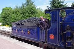 IMGP1068 (Steve Guess) Tags: aviemore scotland highland scottish gb uk strathspey steam heritage preserved railway station train caledonian cr 828 060 loco locomotive