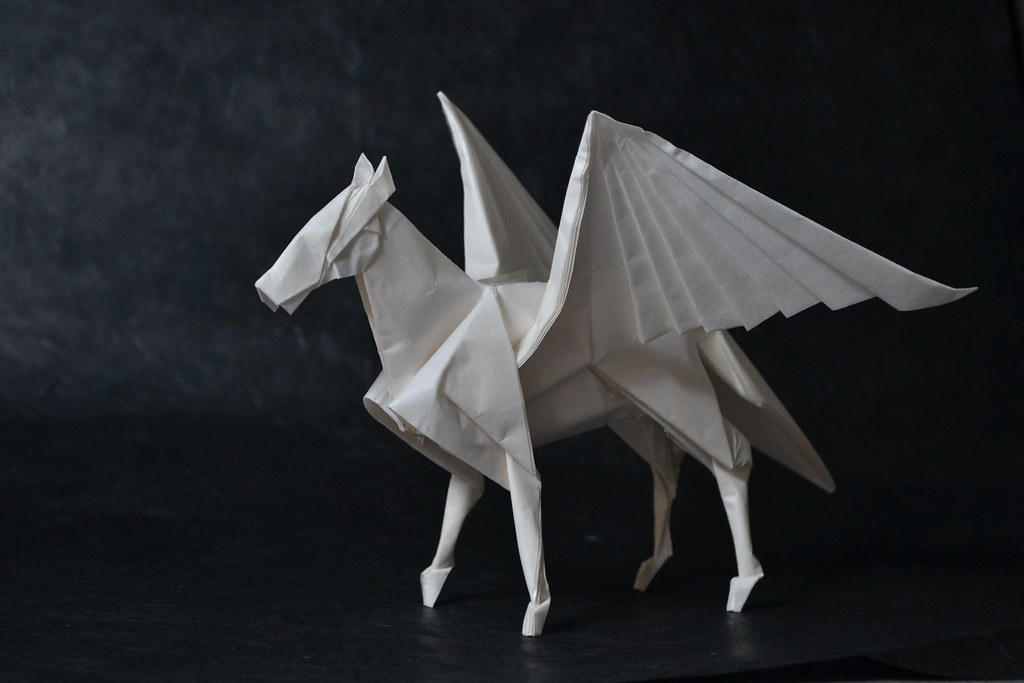 The Worlds Most Recently Posted Photos Of Origami And Pegasus