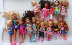 Dolls (neshachan) Tags: kelly stacie chelsea dolls barbie