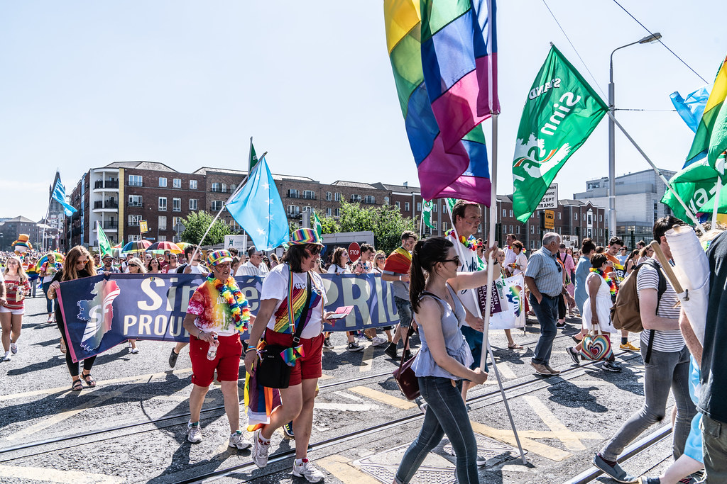 ABOUT SIXTY THOUSAND TOOK PART IN THE DUBLIN LGBTI+ PARADE TODAY[ SATURDAY 30 JUNE 2018] X-100092