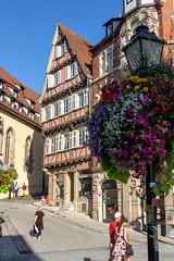 AmHolzmarkt (ericgöbel) Tags: tübingen altstadt historic historisch architecture architektur fachwerk timberframed flowers blumen