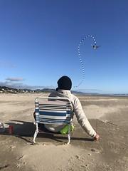 Manzanita Beach (RaminN) Tags: kite beach oregon manzanita