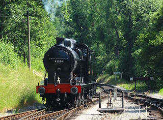 43924 Fowler Class 4F Oxenhope