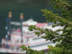 The Dixie through the trees (JJP in CRW) Tags: pines boats laketahoe california emeraldbay