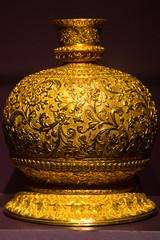 Huqqa (Ellsasha) Tags: museumoffinearts houston museums texas art huqqa hookah gold golden exhibition alsabahcollection kuwait india ancient