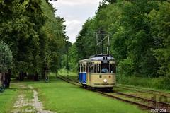 MAN T4 #220 + MAN B4 #527 (b-dziewiętnaście) Tags: man t4 b4 220 527 lijn1 linie1 linia1 mpk mpkkraków kraków krakowskaliniamuzealna strasenbahn tram