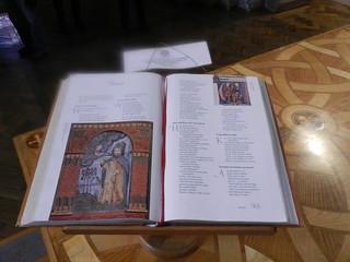Norwegian Bible, St Magnus Cathedral, Orkney Islands, June 2018
