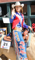 Miss Rodeo Mississippi 2018 (wyojones) Tags: wyoming cody codystampederodeo fourthofjuly july4th taylormcnair missrodeomississippi 2018 pretty beautiful gorgeous southernbelle lovely youngwoman woman brunette girl chaps hat crown shirt earrings belt beltbuckle rodeoqueen rodeoroyalty vest cowgirlhat cowgirl wyojones