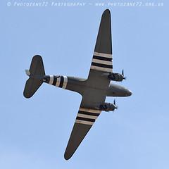1081 Dakota (photozone72) Tags: yeovilton yeoviltonairday aviation airshows aircraft airshow canon canon7dmk2 canon100400f4556lii 7dmk2 bbmf raf rafbbmf dakota