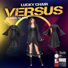 Lucky Chair Lace Edged Bell Sleeve Dress (Carl Wardark Art Photo) Tags: lucky chair lace edged bell sleeve dress