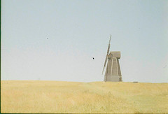 Windmill (spuntotheratboy) Tags: olympus penf expired fujichrome 100 25