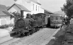 CP E112-Cachão, Portugal, 1968 (filhodaCP) Tags: cp9300 railcar automotora allan estreita tua museuferroviário ferroviário comboiosdeportugal comboioavapor cp steamlocomotive narrowgauge metergauge linhadotua