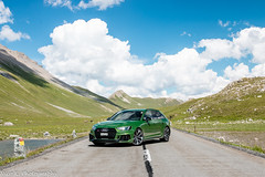 Audi RS4 Avant B9 (Nico K. Photography) Tags: audi rs4 avant b9 photoshooting supercars luxury green makegreengreatagain nicokphotography switzerland albulapass