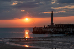 On the edge. (@bill_11) Tags: england isleofthanet kent margate places sunset unitedkingdom weatherandseasons gb