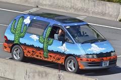 1996 Toyota Previa (Charles Dawson) Tags: m4 n527brr toyota toyotaprevia