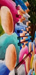 Making of de la peinture réalisée par l'Artiste Ben Heine sur une guitare sculptée exposée sur le rond point de Rochefort (Ben Heine) Tags: peinture guitare rochefort belgique creative créatif art artiste artist paint painting benheine music musique melody mélodie night peintre decoration rondpoint colors couleurs colorful sérénades fêtesdelamusique corinemullens