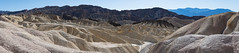 The badlands at zabriskie (Dan M. Thompson) Tags: death valley deathvalley california national park zabriskie point badlands bad lands mountains beauty inexplore explore hike trave road trip landscapes landscape photography nikon nikkor pano panoramic panorama