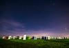 Innumerable (p.niebergall) Tags: innumerable strand strandkörbe night stars sterne himmel nordsee schillig bund unzählige nacht