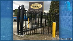 JJFencing.com_Security_post_bollard_fence_4 (JJFencing) Tags: security post bollard chain link installation repair fence vancouver bc canada surrey delta burnaby new westminster residential commercial fences jj fencing inc jjfencing jjfencingcom