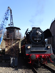 35 1097 holt sich Kohle (Thomas230660) Tags: dresden eisenbahn dampf dampflok steam steamtrain sony