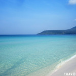 White Sandy Beach & Crystal Clear Waters, Koh Rong Island thumbnail