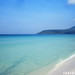White Sandy Beach & Crystal Clear Waters, Koh Rong Island