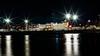 The US Coast Guard (kuntheaprum) Tags: cityofboston nightscape longexposure nikon d80 samyang 85mm f14 sigma 50mm water boat