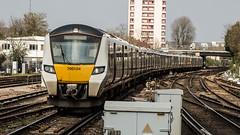 700104 (JOHN BRACE) Tags: 2014 siemens krefeld germany built desiro city class 700 emu 700104 seen east croydon thameslink livery