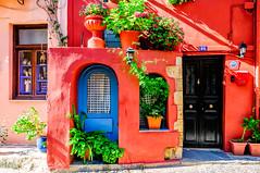 Chania, Crete (Kevin R Thornton) Tags: d90 nikon travel crete city greece mediterranean architecture chania red creteregion gr