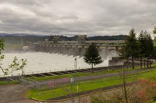 Bonneville Dam - Columbia Gorge