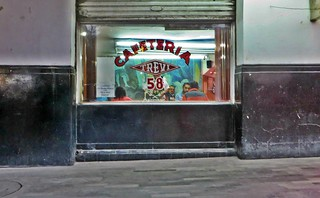 Cafeteria Trevi [I spent a lot of my time doin' a whole lot of nothin']