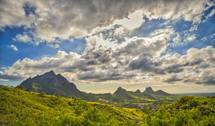 Long Mountain - Mauritius (_N@ren_) Tags: island mountain clouds sky world travel green blue sony a7 range sun cover