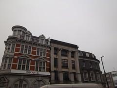 Lewisham,2 (doojohn701) Tags: buildings architecture van bank sky streetlighting lewisham southeastlondon uk
