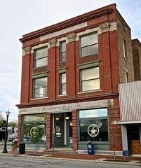 Bridgers Building, Tarboro, NC (Robby Virus) Tags: tarboro northcarolina nc henry clark bridgers building architecture coffee shop apartments post office drug store