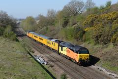 2018-04-19_101845 67023 TnT 67027 at Chippenham (3) (20119) Tags: 1z23 67023 67027 chippenham class67 cockleburylane